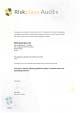 Riskplaza - Certificate