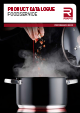 PRODUCT CATALOGUE FOODSERVICE 2019