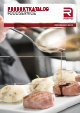 PRODUCT CATALOGUE FOODSERVICE 2017
