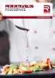 PRODUCT CATALOGUE FOODSERVICE 2018